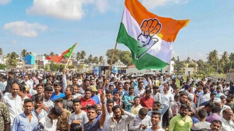 Congress hails victory in local body polls in Karnataka