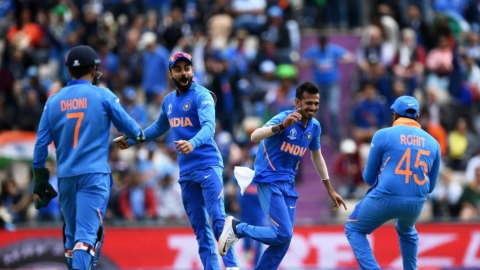 ICC Cricket World Cup 2019: Chahal leads show as India restrict SA to 227/9
