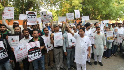 Sadak Se Sansad Tak: India protests against mob lynchings, demands justice for Tabrez Ansari