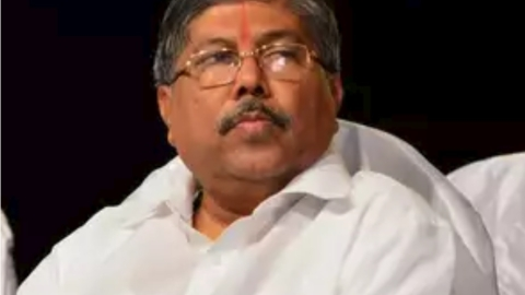 Revenue Minister Chandrakant Patil (Social media)
