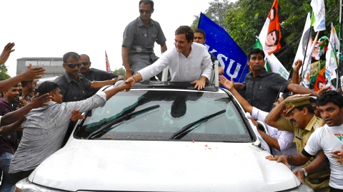 Congress chief Rahul Gandhi connected with various sections of society during his 3-day thanksgiving visit to his Lok Sabha constituency Wayanad in Kerala that concluded on Sunday. Thousands thronged his roadshows, at times amid heavy rains.