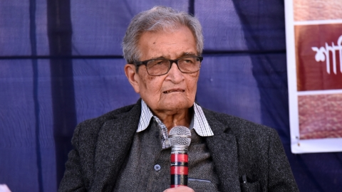 Amartya Sen: If health is not given importance then the country cannot prosper