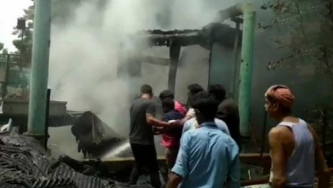 Fire breaks out at Doordarshan Kendra in Mathura, operations halted