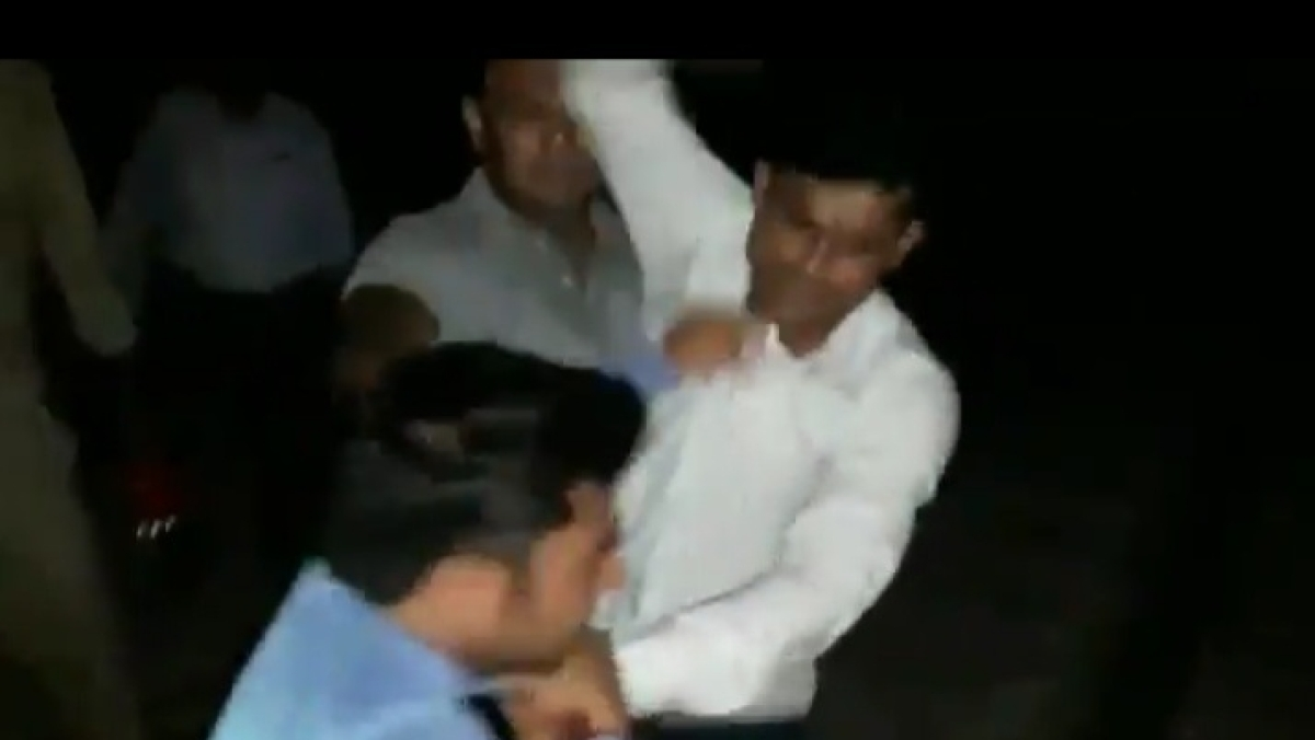 WATCH: Journalist thrashed, urinated upon by GRP men in UP