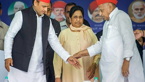 Mayawati announces snapping of alliance with SP
