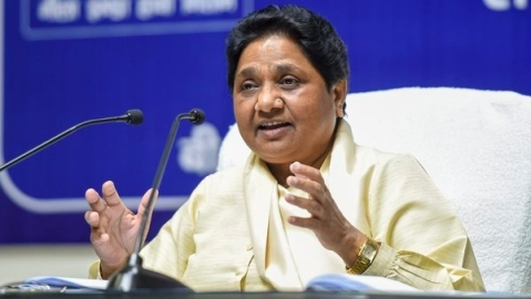 Mayawati seeks for pan-India law to curb lynching