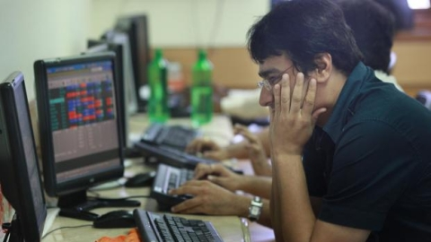 Sensex cracks nearly 300 points; oil and gas stocks tank