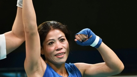 Image result for Six-time world champion MC Mary Kom claimed the gold medal without breaking a sweat in the 23rd President's Cup, asserting her supremacy in a lop-sided 51kg bout final in Labuan Bajo, Indonesia on Sunday. The Olympic bronze medallist pugilist decimated Australian April Franks 5-0. The 36-year-old Indian had also won a gold medal at the India Open boxing tournament in May, but skipped the Asian Championships as part of a larger plan to enhance her chances of Olympic qualification. The Asian Championship was held in Thailand in May. Fresh from winning the gold at the India Open two months ago, Mary Kom participated in this prestigious tournament with the aim of testing herself and getting some much-needed bouts under the belt ahead of the World Championships. Mary Kom, who claimed her sixth world title last year in Delhi, will be looking to qualify for the 2020 Tokyo Olympics in the World Championships in Yekaterinburg, Russia. The 2019 World Boxing Championships for women will be held from September 7 to 21.