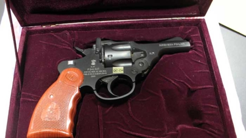 Nirbheek revolver, designed for women,  has sold 2,500 pieces