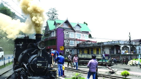 Darjeeling Hill Railway  History in motion