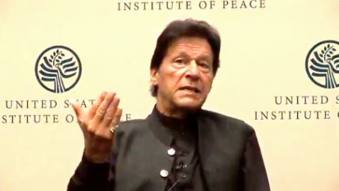 Pak militants fought in Kashmir, JeM operates in India: Imran