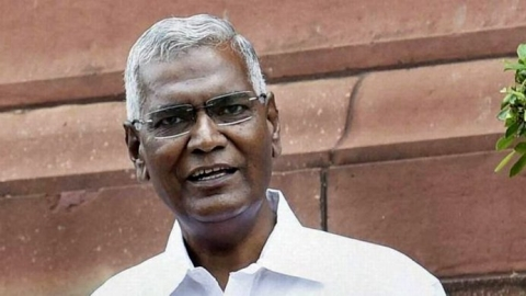 D. Raja elected as new CPI general secretary