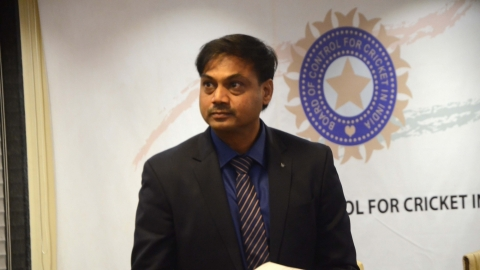 BCCI Selection Committee Chairman MSK Prasad (IANS Photo)