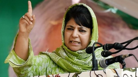 Tinkering with Article 35A will be like setting powder keg on fire: Mehbooba
