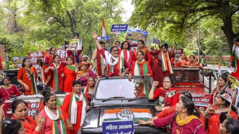Despite brute majority in LS, BJP stalls Women's Reservation Bill