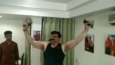 Arms licences of Uttarakhand MLA seen dancing with guns suspended