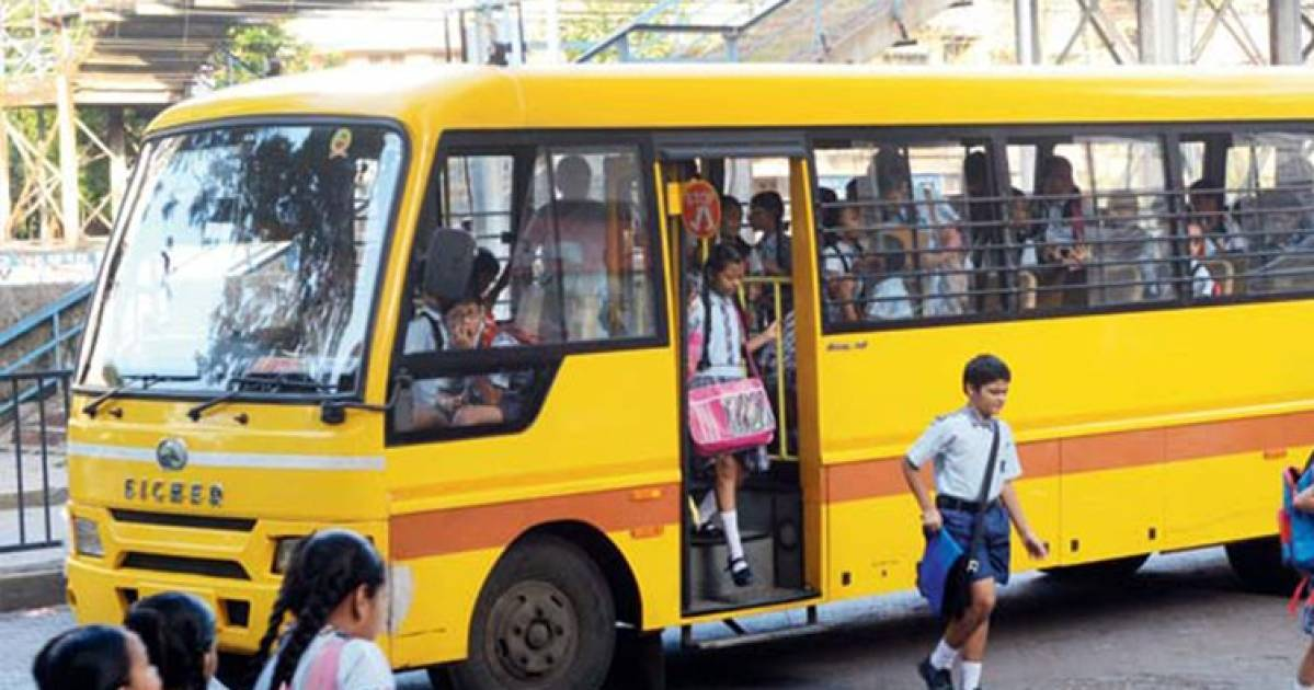 Noida Police Fines Over 400 School Buses For Lack Of