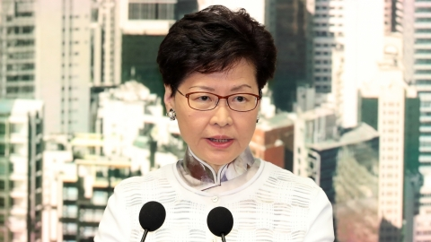 Hong Kong protesters unmoved as Hong Kong leader Carrie Lam says China extradition bill 'dead'