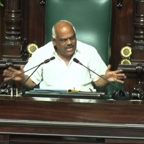 Karnataka Floor Test LIVE updates: Speaker Ramesh Kumar shows his resignation letter to the Assembly