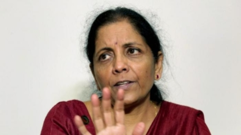 Sitharaman seeks to correct her 'rampaging elephant' remark