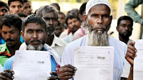 Poet Hafiz Ahmed said he wrote the poem in 2016 and it had nothing to do with the ongoing NRC exercise in Assam. The NRC has cast clouds of uncertainty over the future of lakhs of people, particularly the Muslims of Bengali origin, in Assam.