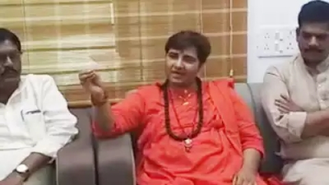 Pragya summoned to Delhi, Nadda unhappy over toilet remark