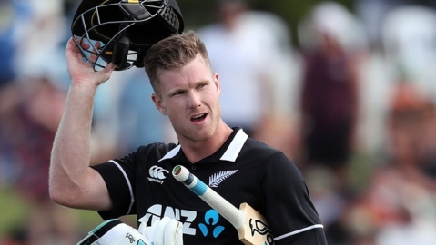 Resell your final tickets: Jimmy Neesham to Indian fans