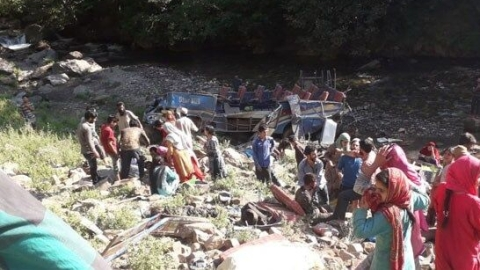35 passengers killed as bus falls into deep gorge in J&K's Kishtwar district