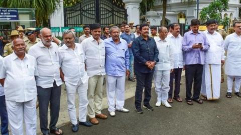 Congress expels rebel Karnataka MLAs