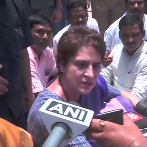 LIVE news updates: Priyanka Gandhi detained by UP Police