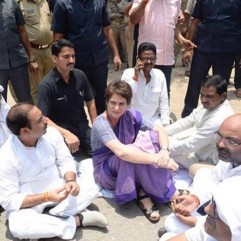 Ready to go to jail if govt thinks meeting breaved tribals is a crime: Priyanka Gandhi