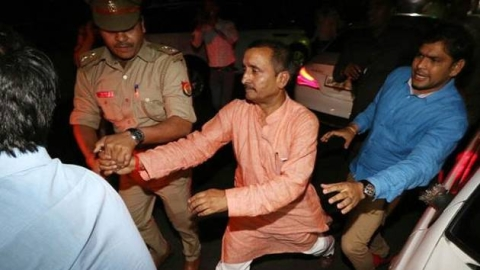 The BJP is fond of rape accused Kuldeep Singh Sengar; Why is he still MLA?