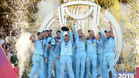 ICC Cricket World Cup final: England win a 'Super' match to become world champions