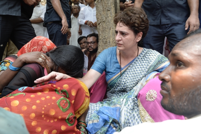 Purpose has been served, says Priyanka after meeting families of Sonbhadra massacre victims