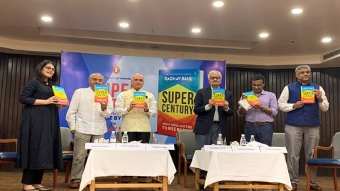 Raghav Bahl's 'Super Century: What India Must Do to Rise by 2050' released