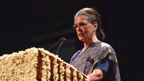 Congress goes back to Sonia Gandhi – the savior