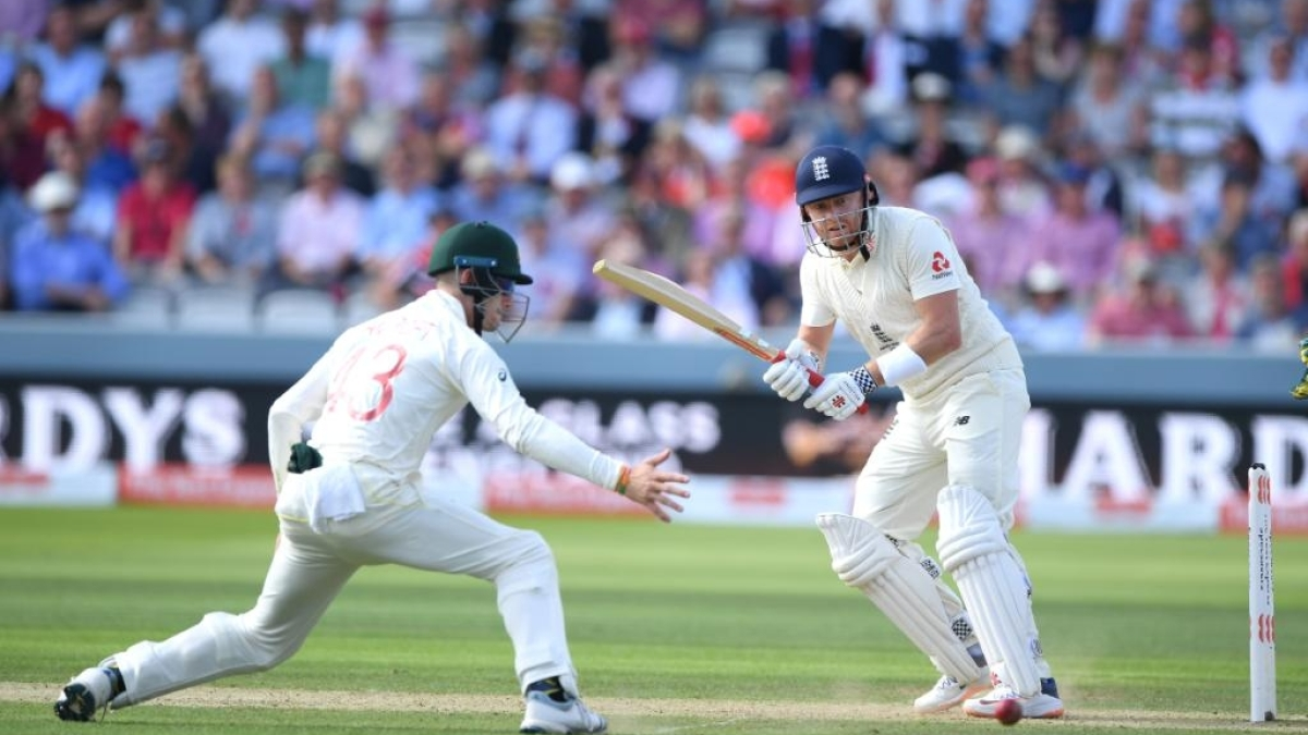Ashes: Burns, Bairstow fifties help England post 258 on Day 2