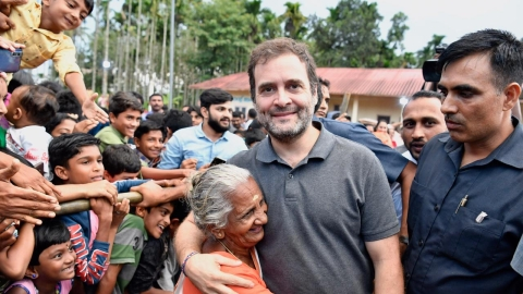 Early compensation and speedy rehabilitation needed, says Rahul Gandhi in Wayanad