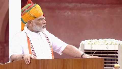 I-Day speech: PM Narendra Modi calls for simultaneous polls, population control law and hails wealth creators