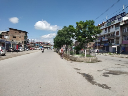 South Kashmir under civil shut-down