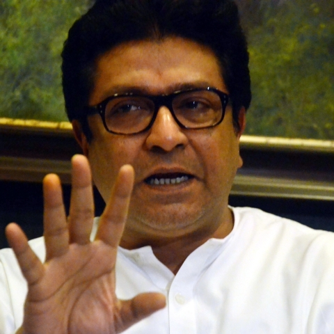 Maharashtra Navnirman Sena President Raj Thackeray (IANS Photo)