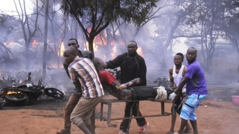 60 killed in Tanzania oil tanker explosion