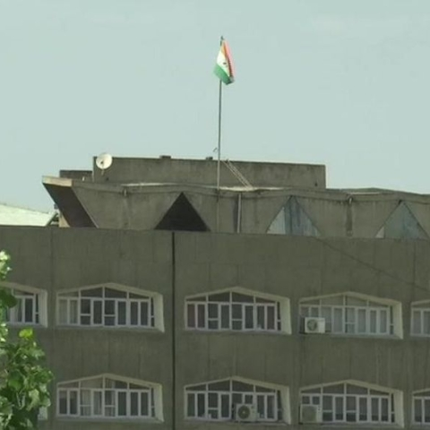 Jammu and Kashmir state flag taken down from Secretariat