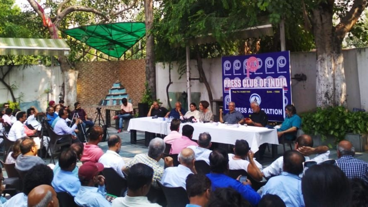 Journalist bodies condemn PCI's opposition to plea for press freedom in J&K
