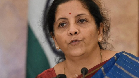 Union Finance Minister Nirmala Sitharaman (file photo).