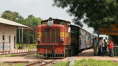 Historic  narrow-gauge train in central India to soon become history