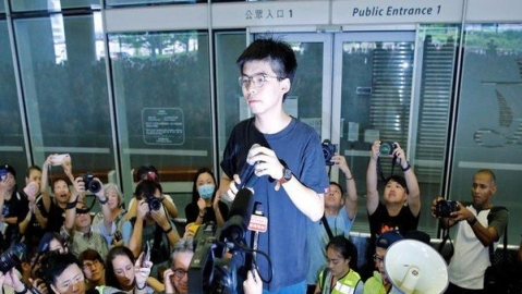 Leading Hong Kong democracy activist Joshua Wong arrested: Party