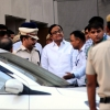 Former Finance Minister P. Chidambaram at Rouse Avenue court complex in New Delhi (IANS file photo).