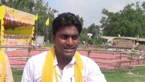SBSP national general secretary Arvind Rajbhar (social media)