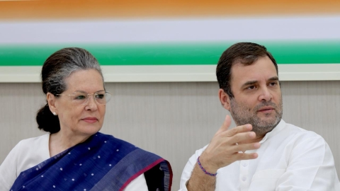 Sonia, Rahul Gandhi recuse themselves from Congress Working Committee meet, party to decide on president today